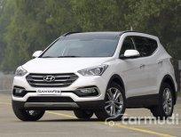 Bán xe Hyundai Santa Fe CKD đời 2016, màu trắng