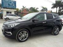 Bán ô tô Hyundai Santa Fe đời 2016 2.4A/T2WD, màu đen