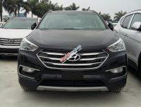 Bán xe Hyundai Santa Fe đời 2016 2.4A/T 2WD, màu đen