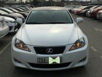 Bán Lexus IS 250 đời 2006, màu trắng, nhập khẩu, xe gia đình, giá chỉ 800 triệu