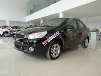 Bán Chevrolet Aveo LT - Giá thỏa thuận đời 2015, màu đen, hỗ trợ trả góp đến 80%