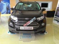 An Đô Ford bán xe Ford EcoSport Titanium mới, màu đen, hỗ trợ mua xe trả góp, giao xe toàn quốc