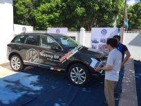 Xe nhập Đức Volkswagen Touareg 3.6l GP  màu nâu, dòng SUV sang trọng, tặng 145 triệu. LH Hương 0902.608.293