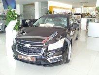 Bán xe ô tô Chevrolet Cruze 1.8 LTZ đời 2015, màu đen, giá chỉ 686 triệu