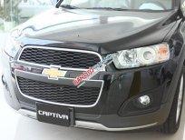 Bán ô tô Chevrolet Captiva LTZ đời 2015, màu đen