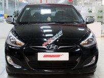 Bán Hyundai Accent Blue 1.4AT đời 2013, màu đen, xe nhập, giá ưu đãi