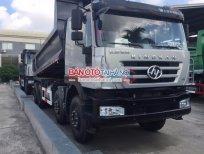 Cần bán xe tải Hongyan 8x4 sản xuất 2015, màu bạc, xe nhập