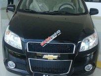Bán Chevrolet Aveo 1.5 ltz đời 2016, màu đen, 481tr