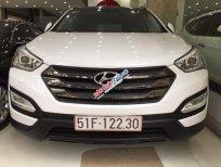 Bán Hyundai Santa Fe CRDi 2015, màu trắng