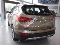 Cần bán Hyundai Santa Fe 2.4 AT 2 WD đời 2017, màu nâu, nhập khẩu nguyên chiếc