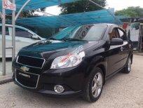 Bán Chevrolet Aveo LTZ 1.5 AT đời 2014, màu đen số tự động