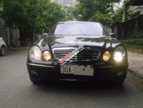 Bán Mercedes E240 đời 2003, màu đen