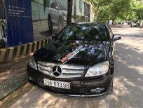 Cần bán Mercedes C đời 2008, màu đen, xe nhập, giá tốt