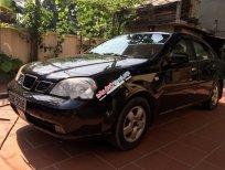 Xe Daewoo Lacetti EX đời 2005, màu đen, giá 162tr