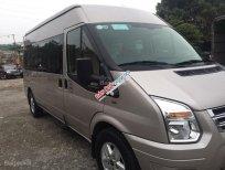 Cần bán gấp Ford Transit Luxury 2015, màu bạc
