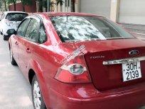 Bán xe Ford Focus 1.8MT đời 2007, màu đỏ, giá 245tr