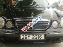 Bán Mercedes E240 AT đời 2002, màu đen, xe nhập