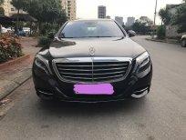 Bán Mercedes S500L sản xuất 2013 ĐK 2014 màu đen, xe một chủ đi từ đầu