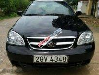 Cần bán lại xe Daewoo Lacetti EX sản xuất 2005, màu đen như mới, giá chỉ 155 triệu