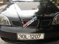 Bán xe Daewoo Lacetti EX đời 2005, màu đen như mới, giá chỉ 156 triệu
