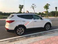 Cần bán xe Hyundai Santa Fe CRDI đời 2014, màu trắng, nhập khẩu Hàn Quốc