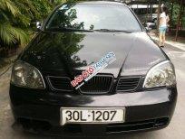 Cần bán Daewoo Lacetti EX sản xuất 2005, màu đen