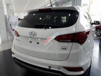Cần bán xe Hyundai Santa Fe CKD đời 2017, màu trắng