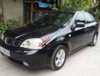 Cần bán lại xe Daewoo Lacetti MT đời 2005, màu đen, giá 152tr