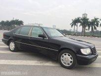 Cần bán lại xe Mercedes S500 đời 1995, màu đen, nhập khẩu, chính chủ giá cạnh tranh