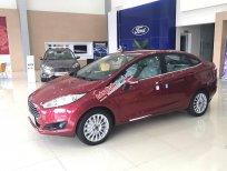 Bán Ford Fiesta 1.5 Titanium Sedan năm 2018, màu đỏ mận, hỗ trợ giá tốt. L/H 0907782222