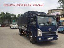 Xe tải FAW 6.95 tấn, thùng dài 5,1m / giá rẻ nhất