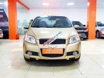 Chevrolet Aveo LTZ sx 2015, màu vàng cát, nội thất bọc da