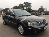 Bán Ford Laser 1.8MT đời 2004, màu đen như mới, giá chỉ 225 triệu