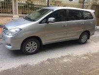 Gia đình cần bán chiếc xe Toyota Innova 2.0G, màu bạc SX 2011