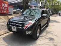 Cần bán gấp Ford Ranger XLT đời 2009, màu đen số sàn, giá 345tr