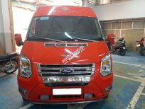 Ford Transit DCar President VIP 10 chỗ màu đỏ sản xuất 2016, đăng ký 2017