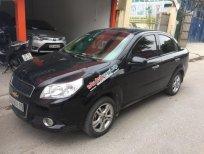 Cần bán Chevrolet Aveo LT năm 2015, màu đen chính chủ, giá chỉ 319 triệu