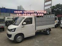 Giá xe Veam VPT095 rẻ nhất cả nước, thùng bạt 2m6, tải 990kg, nội thất hiện đại