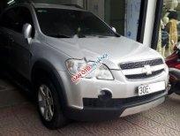 Cần bán gấp Chevrolet Captiva LT đời 2007, màu bạc số sàn