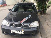 Cần bán gấp Daewoo Lacetti EX đăng ký 2005, màu đen ít sử dụng, giá tốt 155tr