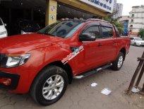 Bán ô tô Ford Ranger Wildtrak 3.2L 4x4 AT sản xuất 2014, màu đỏ, nhập khẩu mới chạy zin km, giá tốt