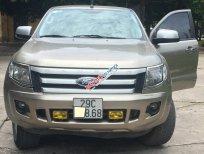 Bán xe Ford Ranger XLS 4x2 AT năm 2015, màu vàng, nhập khẩu chính chủ, giá tốt