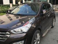 Bán Hyundai Santa Fe CRDI năm 2014, màu nâu, xe nhập