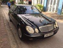 Cần bán Mercedes E240 2003, màu đen, nhập khẩu chính hãng, 285 triệu
