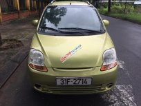 Cần bán xe Chevrolet Spark LT sản xuất 2010, màu vàng xịn