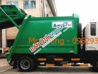 Bán xe cuốn ép rác Hino 9 khối