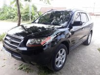 Bán Hyundai Santa Fe SLX 2008, màu đen, xe máy dầu