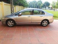 Cần bán Honda Civic 1.8 2008, màu nâu, giá chỉ 375 triệu