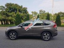 Bán ô tô Honda CR V 2.4 AT 2014, màu nâu, xe đi rất ít lốp sơ cua chưa chạm đất