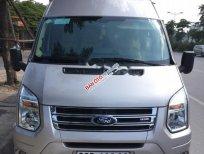 Bán Ford Transit Luxury sản xuất 2015, màu bạc số sàn, giá tốt